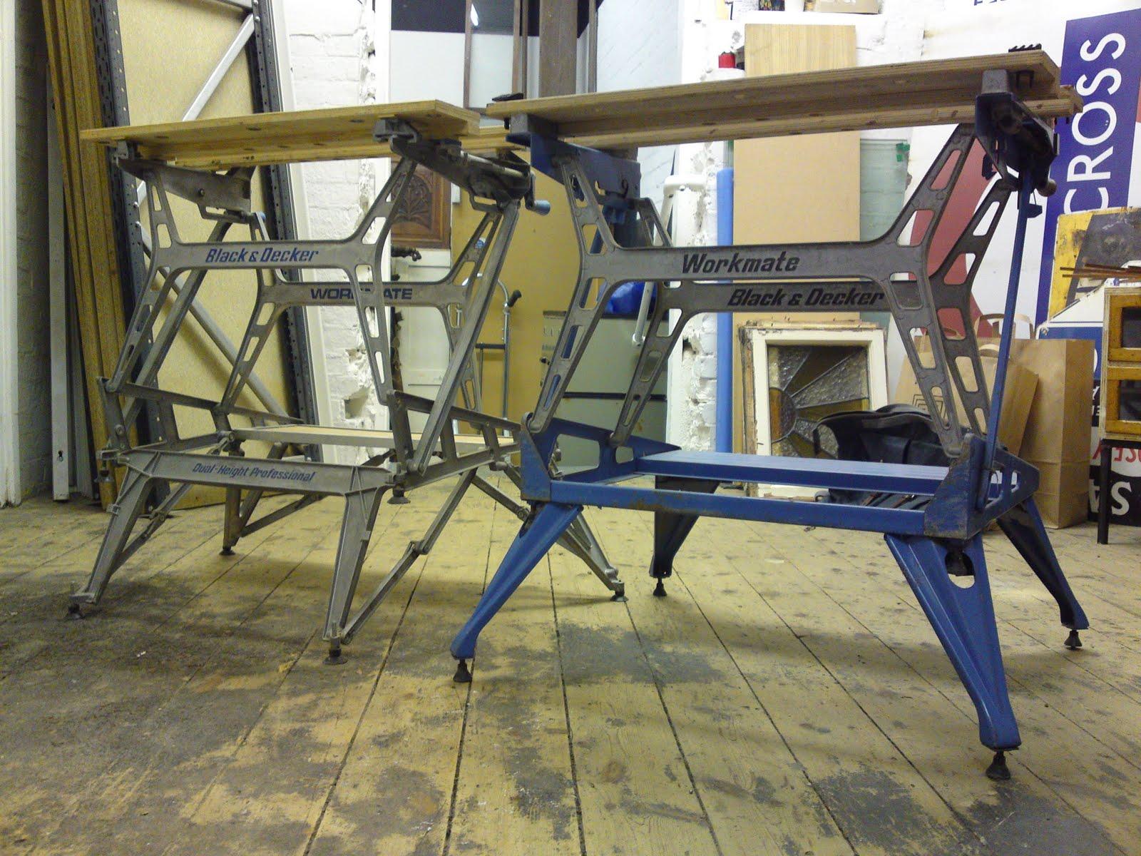 Styling and salvage vintage black decker workmate wm
