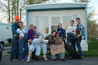 Trailer Trash Party theme