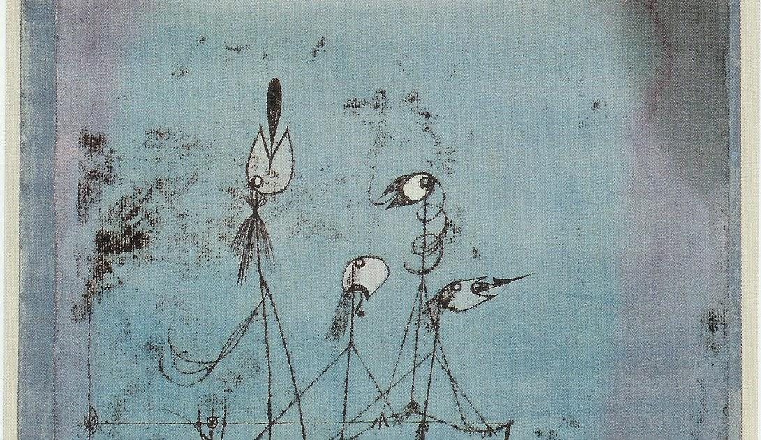 Twittering Machine >> Meghna S Visual Diary Paul Klee S Twittering Machine