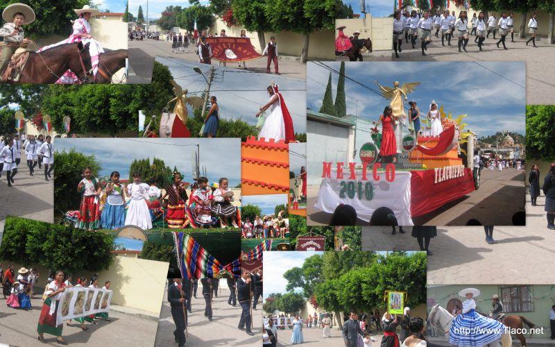 Desfile16 de septiembre - Bicentenario -Tlacotepec