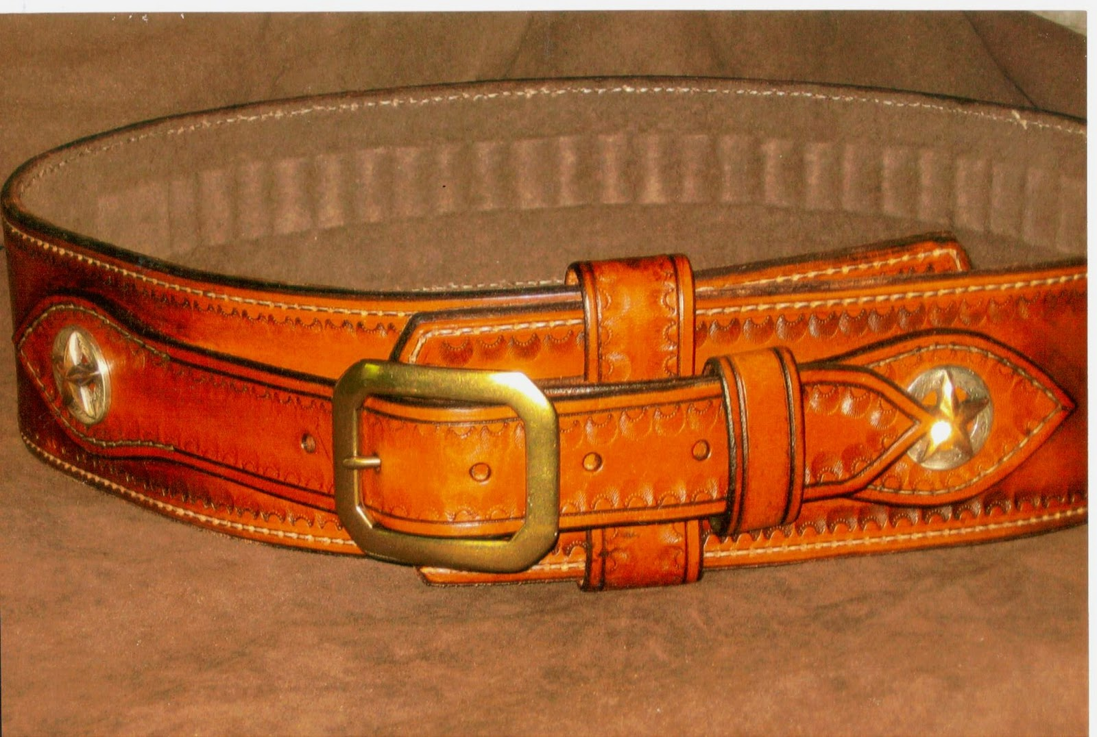 lionheart leather and blades western gun belt