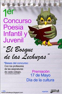 1er Concurso de poesia infantil y juvenil.