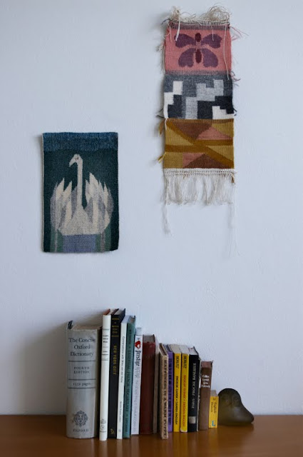Come Over Sunday - Japanese Woven Wall Hangings