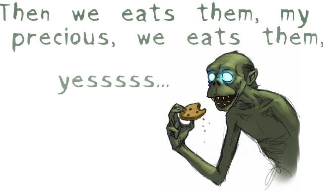Gollum's Cookies