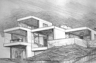 Roperodepablouriburu - Casas dibujadas a lapiz ...