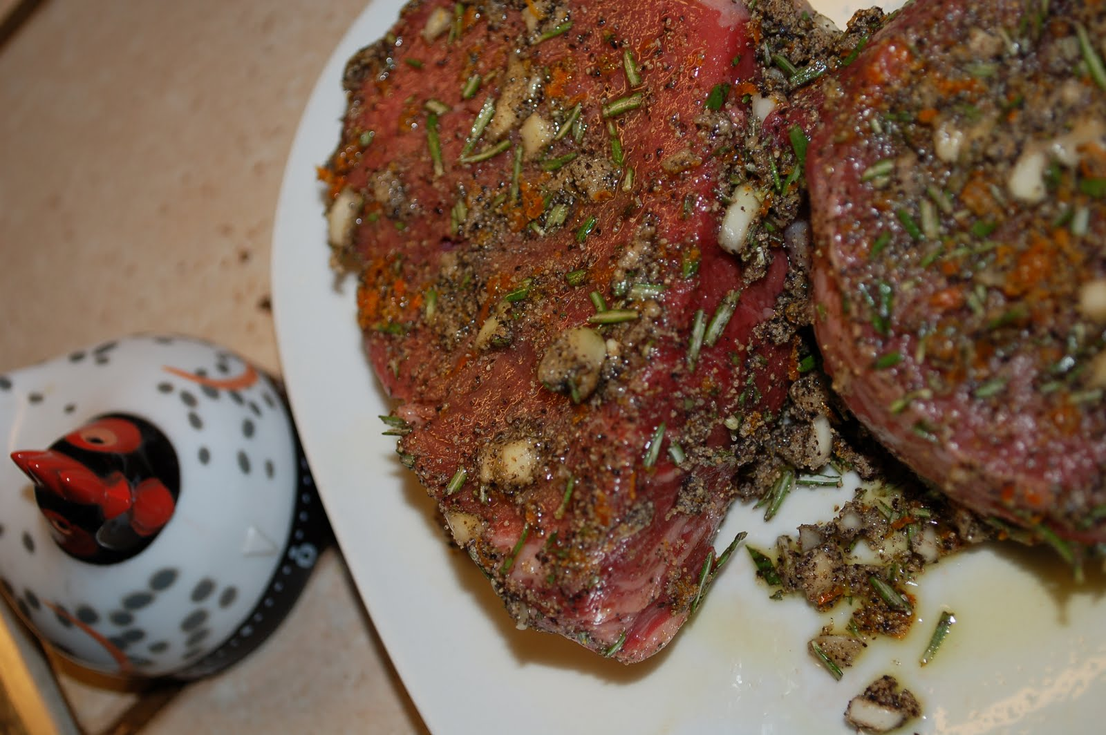 Herb and Spice Roasted Beef Tenderloin with Red Wine