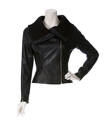 Jennifer Aniston black leather motorcycle jacket