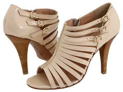 Nude is the mood for Spring 2011. Get the leg elongating nude color sandals ...