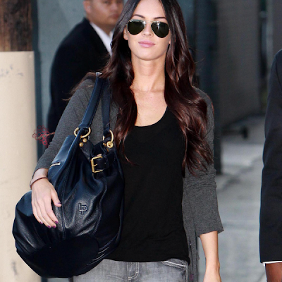 Megan Fox's Linea Pelle black bag is sold out everywhere.