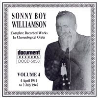 Sonny Boy Williamson I - Complete Recorded Works in Chronological Order - Volume 4