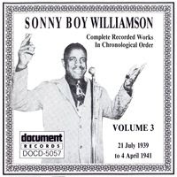 Sonny Boy Williamson I - Complete Recorded Works in Chronological Order - Volume 3