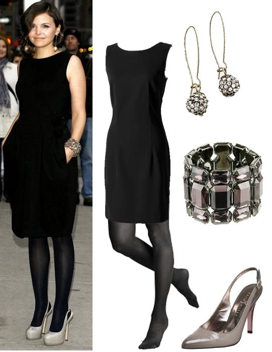 Que zapatos usar con vestido y medias negras