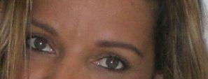 Esses são meus olhos, que enxergam você.