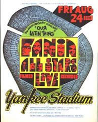 FANIA ALL STARS Y SU AFICHE DEL YANKEE STADIUM