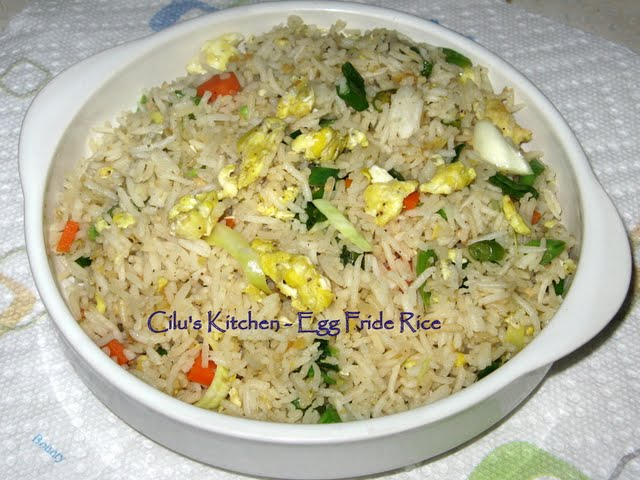 Cilu's Food: Chinese Egg Fried Rice