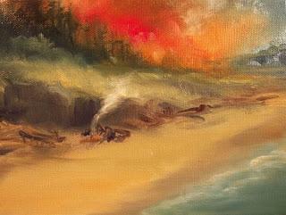 Beach Fires & Unconsciousness