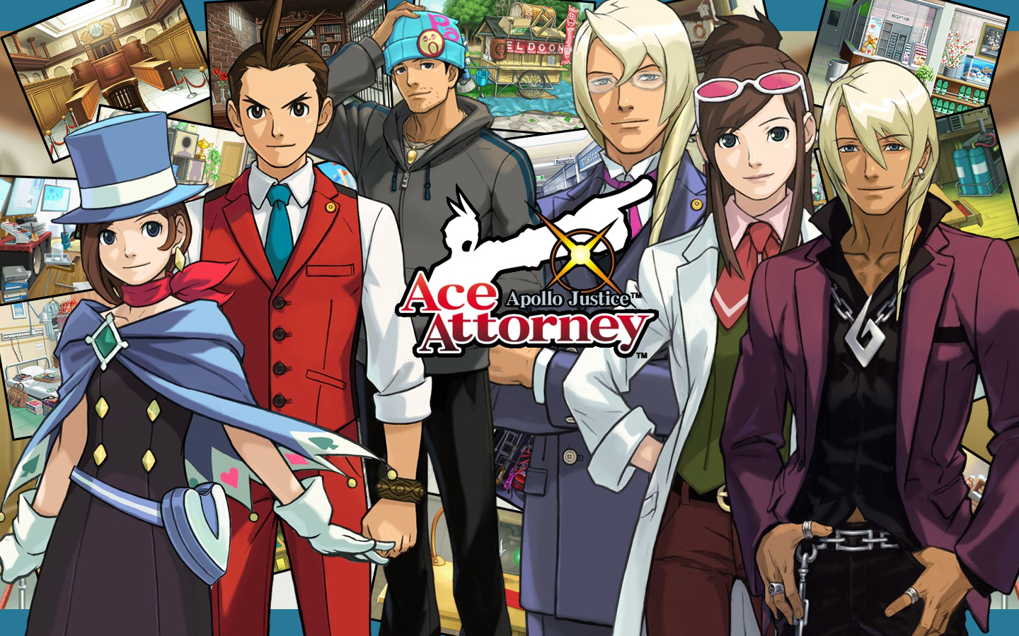 Apollo justice ace attorney wallpaper welcome minna to my blog