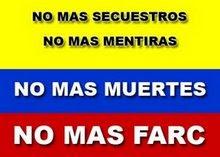 CONTRA EL NARCOTERRORISMO SOCIALISTA  DE LAS FARC