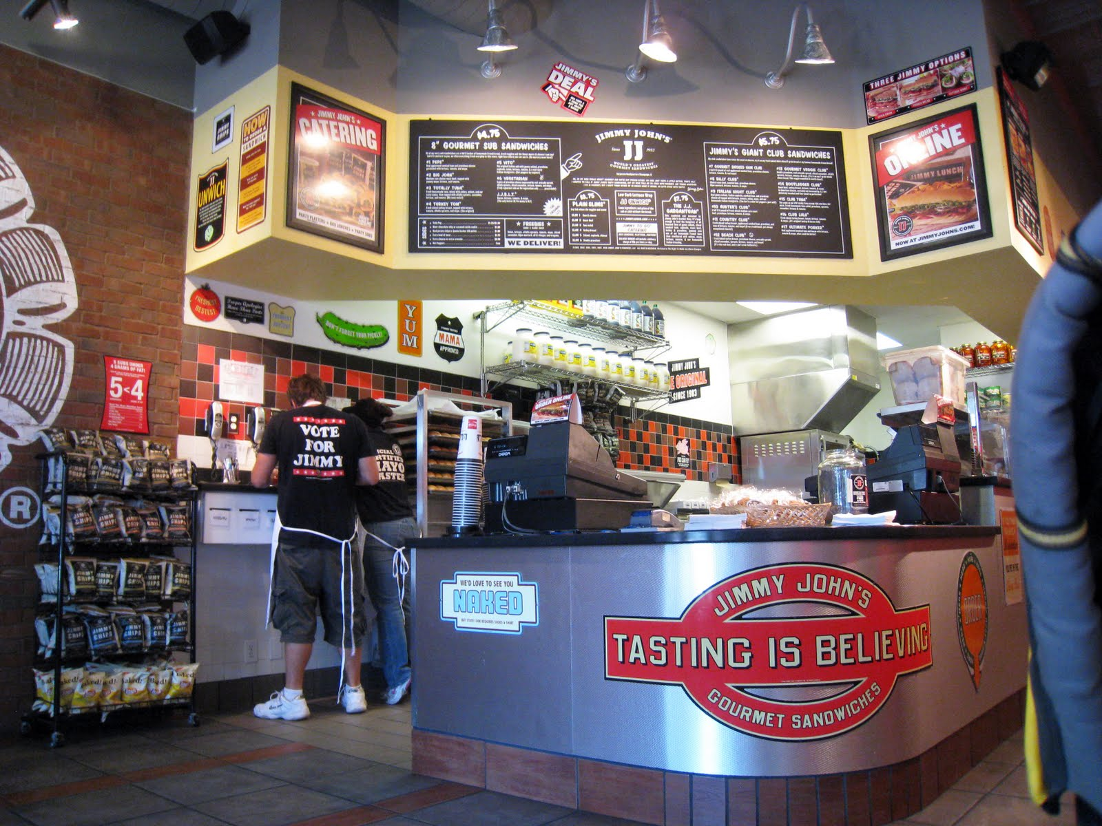 Jimmy Johns Gourmet Sandwiches   Feasting Fort Collins Feasting Fort Collins