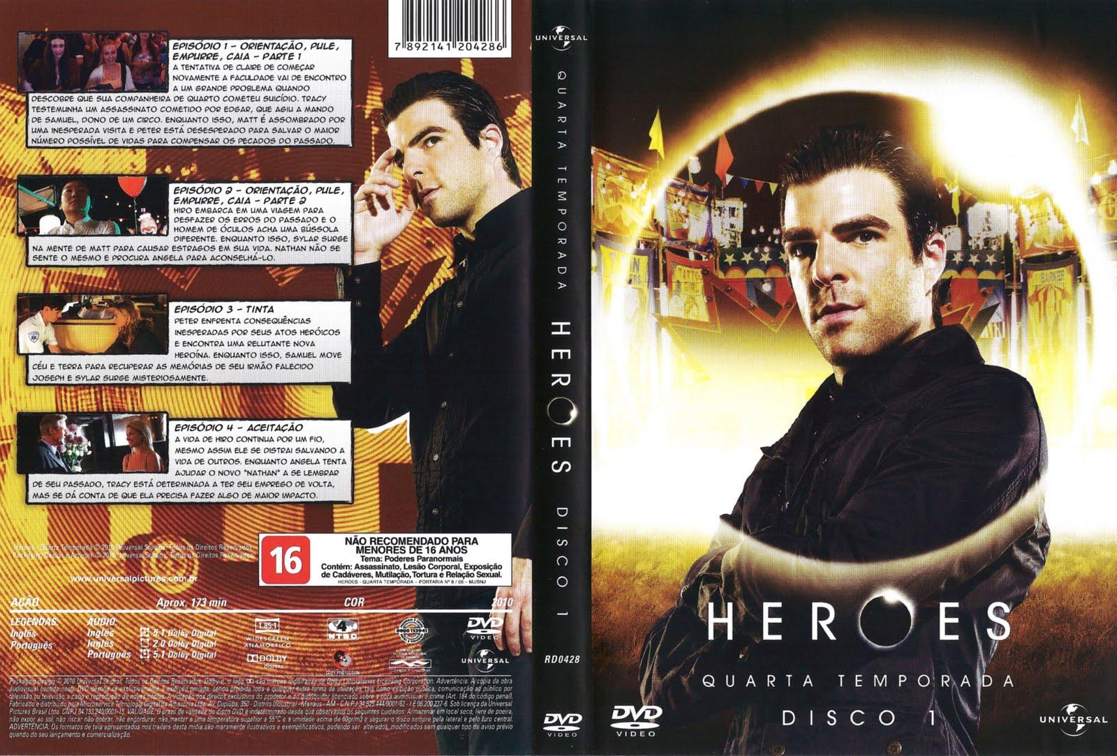 Heroes 4ª Temporada | Capas De Filmes Grátis