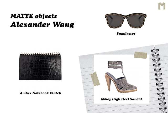 MATTE objects: Alexander Wang