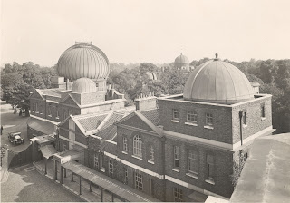 The Meridian Building, which once housed the Upper and Lower Computing Rooms, in the 1930s © NMM