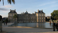Люксембургский парк в Париже, Франция