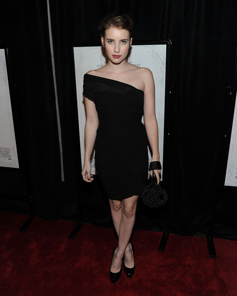Emma Roberts At The New York Screening Of My Soul To Take Held On