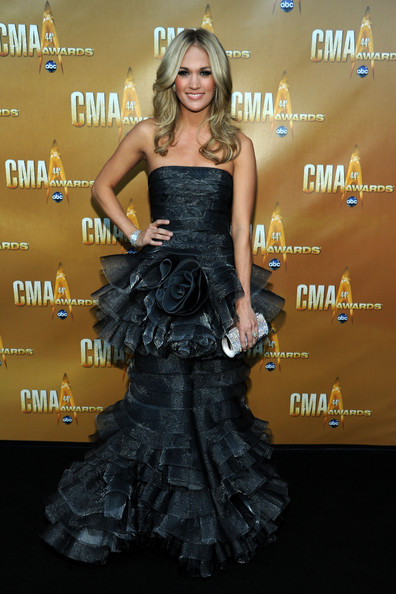 Carrie Underwood at the 2010 CMA Awards