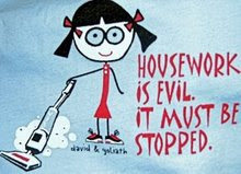 evil housework