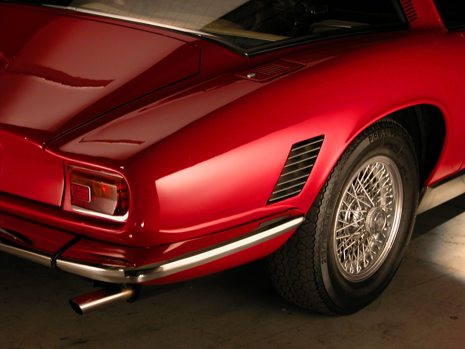 this is one of the best iso grifos on the planet and it is owned by darren frank