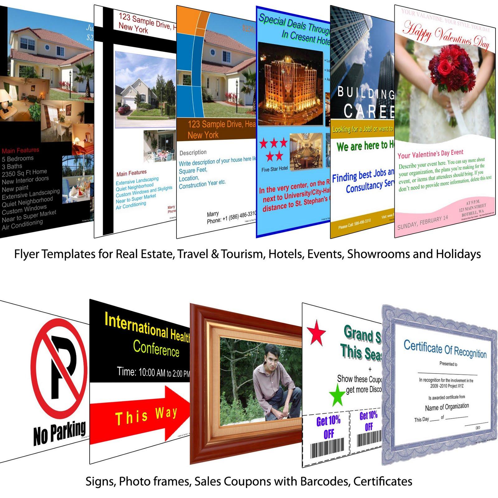 brochure templates free .