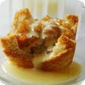 Charlotte aux Pommes, Crème Anglaise au Rhum (Apple Charlotte with Rum-Flavored Crème Anglaise)