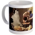 The Milkmaid Cat Mug