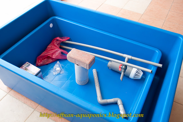 Affnan 39 s aquaponics first set sold home tilapia breeder kit for Aquaponics fish tank kit