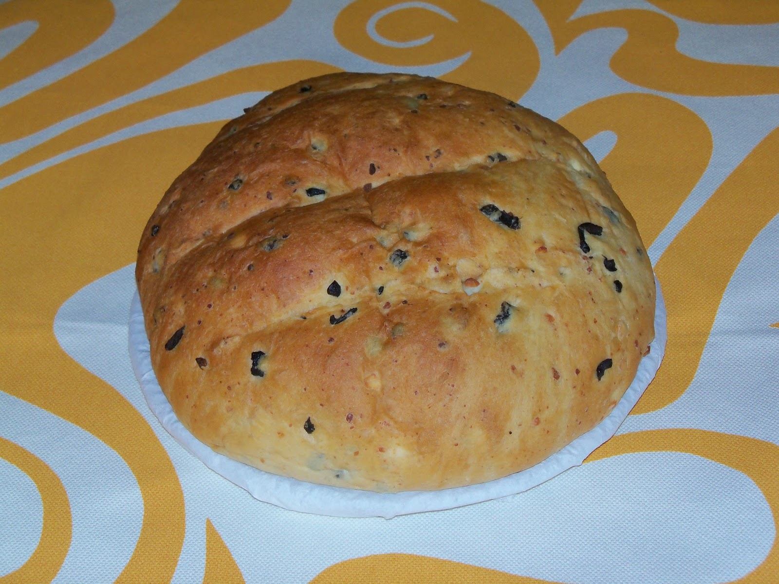... Olive and Feta Cheese Bread - Recipe 32 | Fifty-Two Loaves of Bread