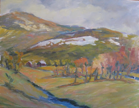 Vermont Spring Landscape