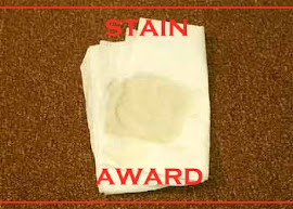 Hershey's STAIN AWARD from Joey