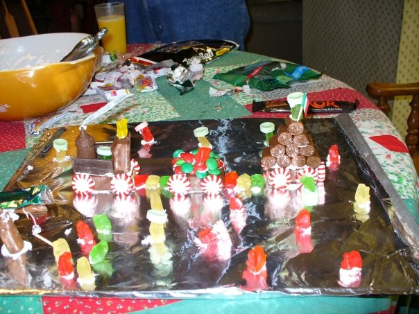 Christmas Candy Train