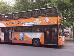 bus Nantes City Tour