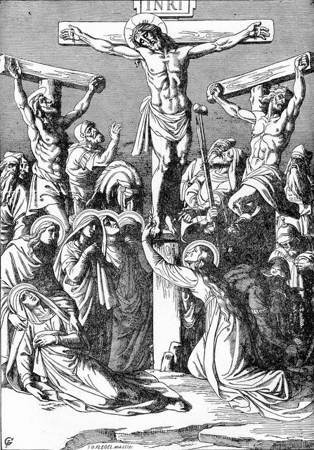 Coloring Pageblack And White Picture Of Jesus Christ Crucifixion On Cross Download Free