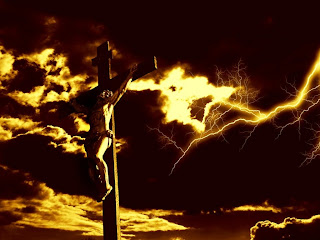 Crucifixion of Jesus Christ on the cross hd(hq) wallpaper download drawing art images for free