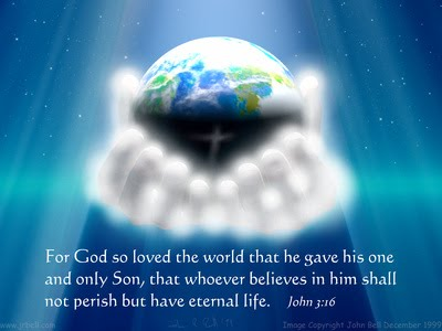 John 316 Bible Verse For God So Loved The World That He Gave His One And Only Son