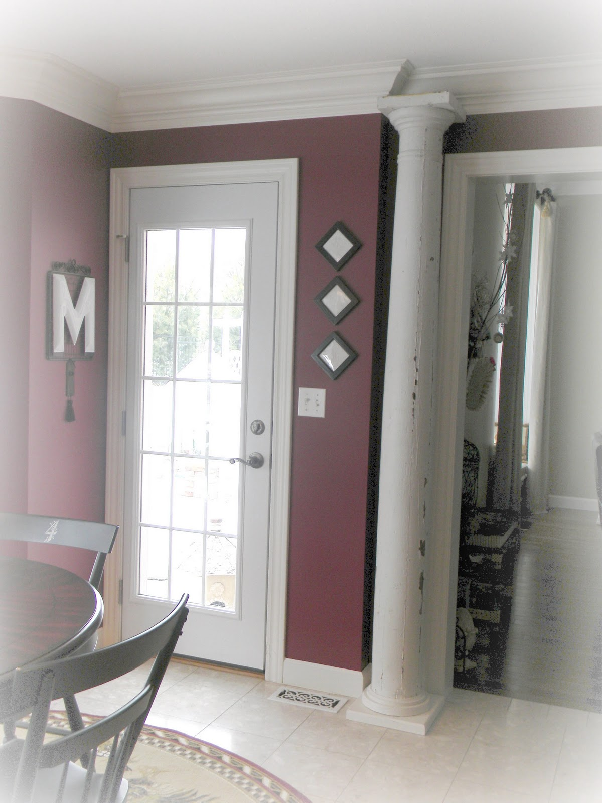So Here Is My Promised Dining Room Tour You Can See Kitchen Our Home Was Built With A Formal That We Converted To Study