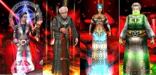 四種角色一開始都是不起眼的小角色