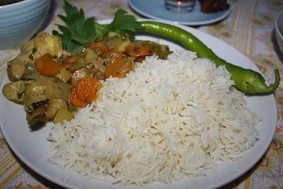 Koke ris i dampovn