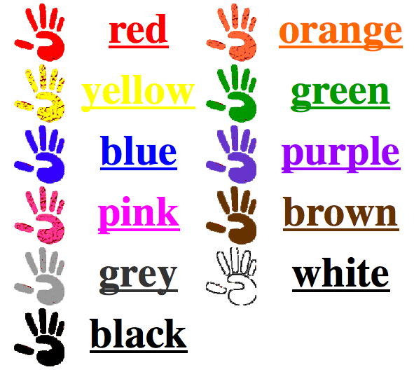 turned on to tech color scavenger hunt in kindergarten colors for children - Color For Kid
