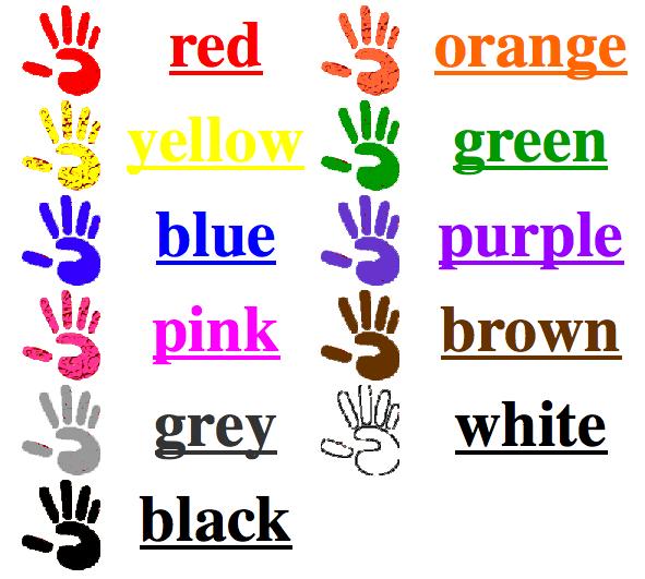 turned on to tech color scavenger hunt in kindergarten