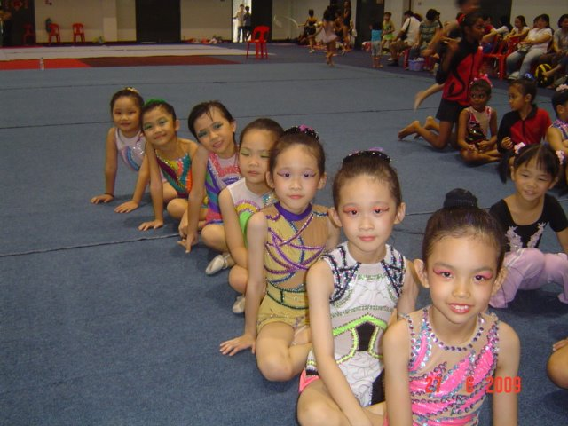 Our gymnasts..