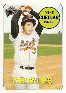 Mike Cuellar's 2005 Topps All-Time Fan Favorites Card